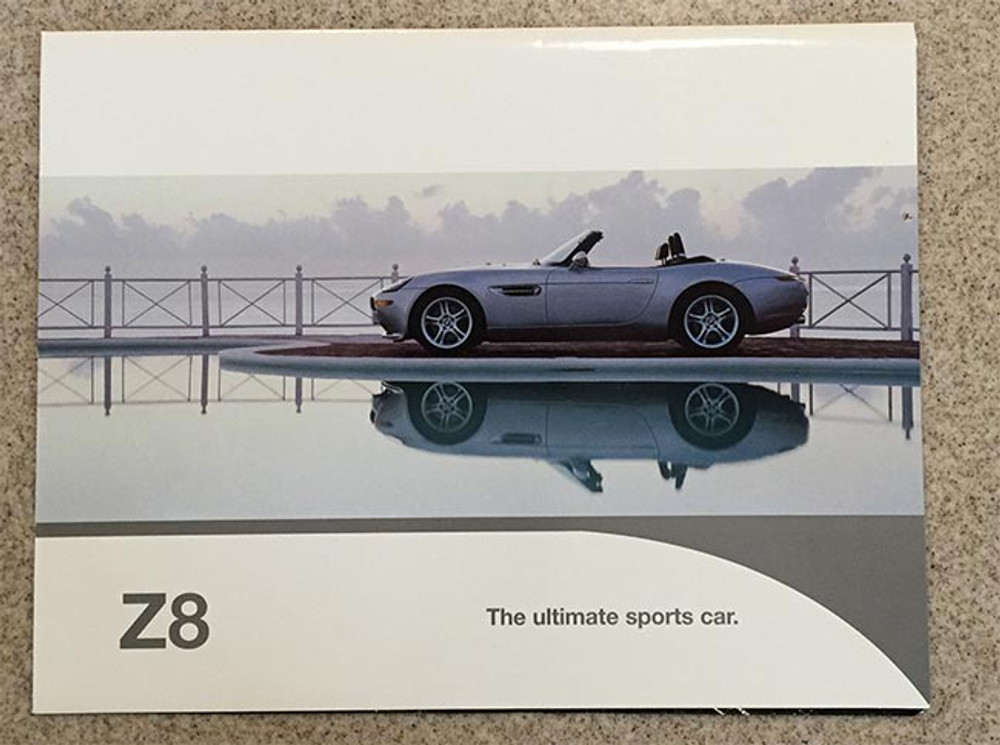 BMW Z8 Brochure and Foldout Poster