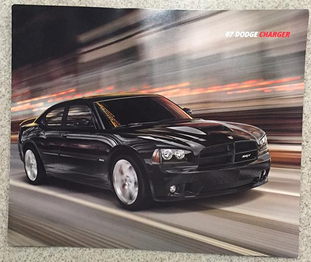 2007 Dodge Charger 24-Page Dealer Sales Brochure