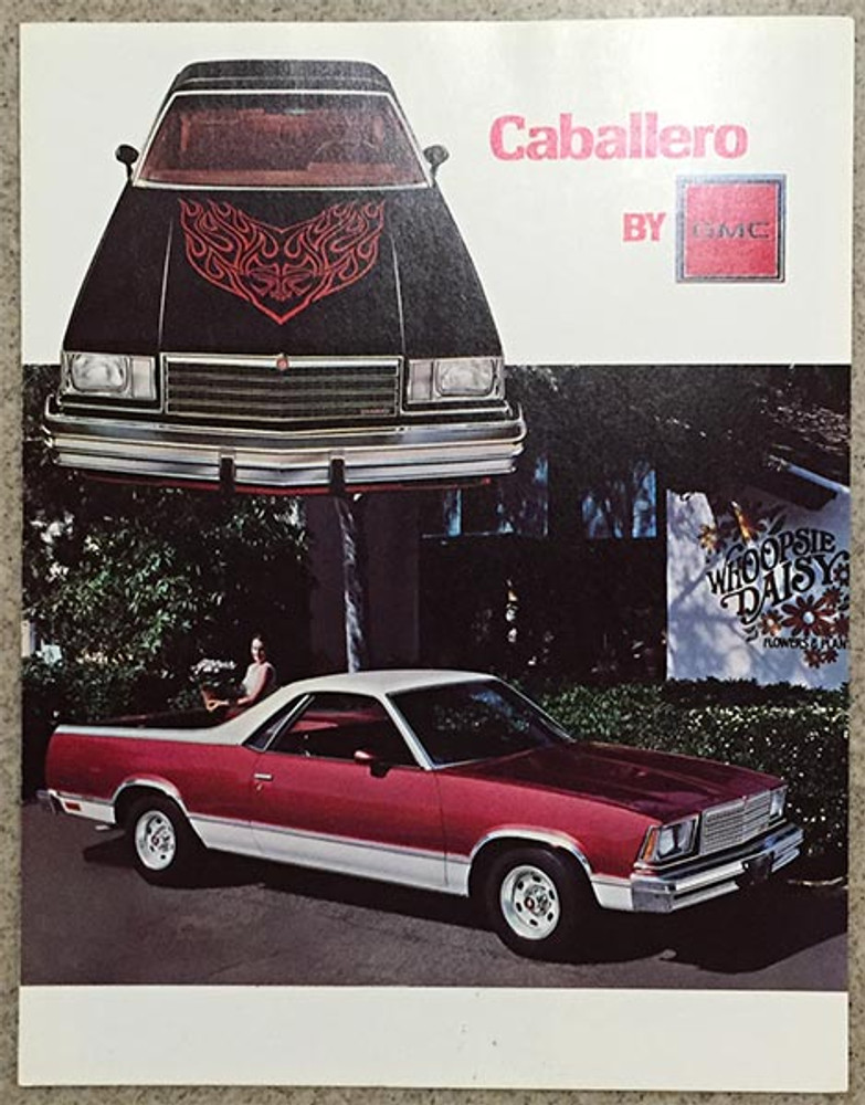 1979 GMC Caballero Dealer Brochure