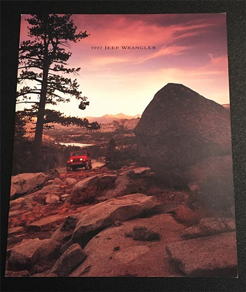 1997 Jeep Wrangler Original Brochure