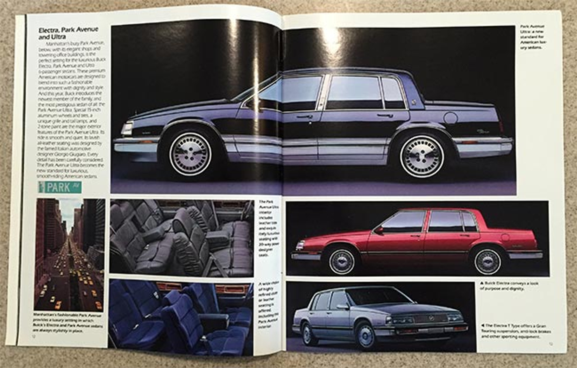 1989 buick full line 45 page dealer color catalog. Black Bedroom Furniture Sets. Home Design Ideas