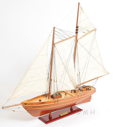 America 19th Century Racing Yacht Replica