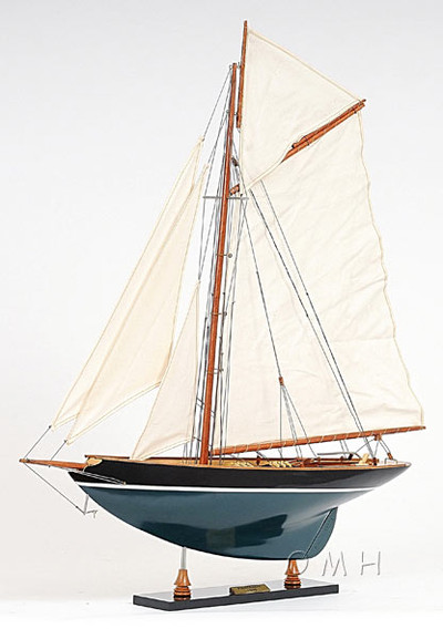 Pen Duick Painted Yacht Model