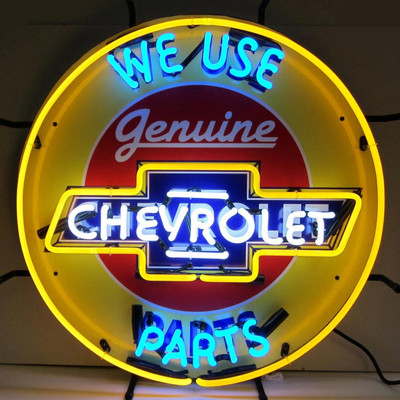Neonetics Chevrolet Neon Sign with Silkscreen Backing