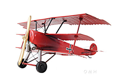 1917 Red Baron Fokker Triplane 1:30 Scale