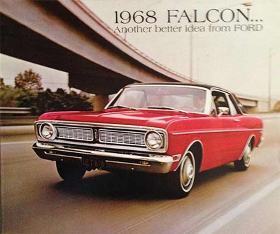 1968 Ford Falcon 11-Page Color Sales Catalog