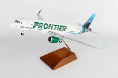 Frontier Airlines A320 Hugh The Manatee SKR8328