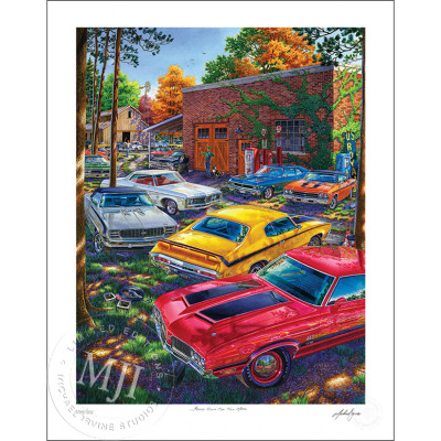 Found Room For Two More Limited Edition Print