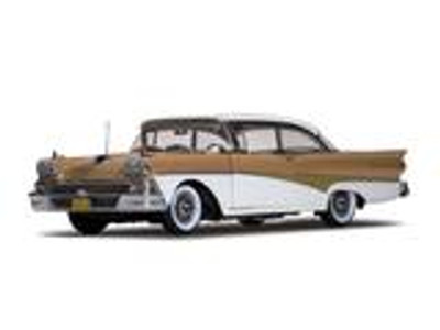 1958 Ford Fairlane 500 Hard Top Palomino Tan/White