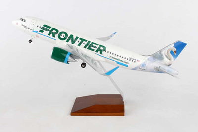 Frontier Airlines A320 Summer The Swan