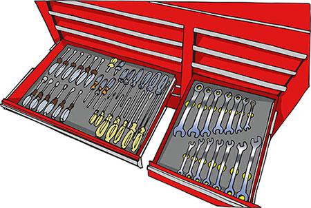Craftsman tool drawer organizer