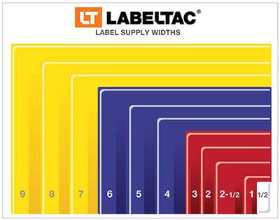 Label Supply Widths