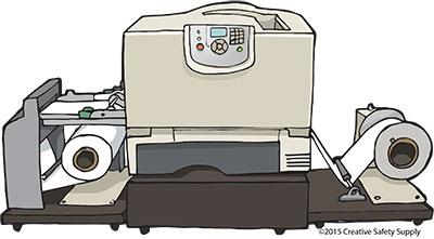Laser Label Printer
