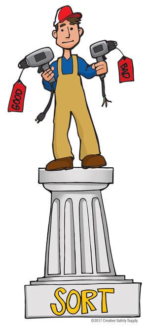 5S Pillar Sort