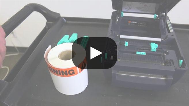 LabelTac 4 Pro - Loading Label Supply