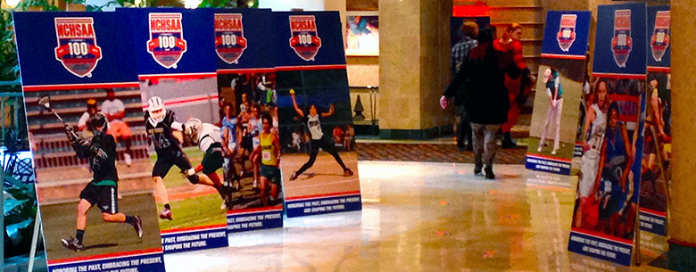 NCHSSA Event Pop-Up Signs