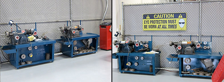 Before and After - Eye Protection Banner