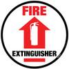 Floor Sign - Fire Extinguisher
