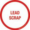 Lead Scrap Floor Sign