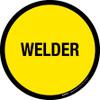 Welder Floor Sign