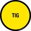 TIG Floor Sign