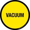 Vacuum Floor Sign