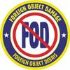 No FOD Floor Sign