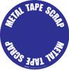 Metal Tape Scrap Floor Sign
