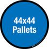 44x44 Pallets Floor Sign