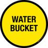 Water Bucket Floor Sign