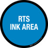 RTS Ink Area Floor Sign