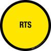 RTS Floor Sign