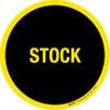 Stock Floor Sign