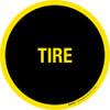 Tire Floor Sign