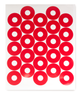 Gauge Warning Circles - red