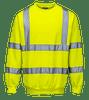Hi-Vis Sweatshirt, Yellow