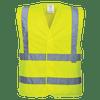 Hi-Vis Band and Brace Vest, Yellow