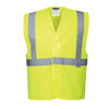 Hi-Vis 1 Band Vest, Yellow