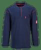 Portwest FR02 Flame Resistant Crew Button Neck T-Shirt