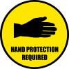 Hand Protection Required