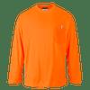 Long Sleeve Pocket T-Shirt, Orange
