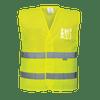 Hi-Vis Mesh Vest, Yellow