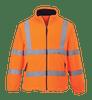 Hi-Vis Mesh Lined Fleece, Orange