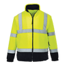 Hi-Vis 2-Tone Fleece, Yellow
