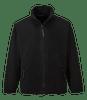 Argyll Heavy Fleece, Black