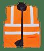 Hi-Vis Bodywarmer, Orange