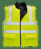 Hi-Vis Bodywarmer, Yellow