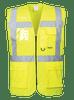 Berlin Executive Hi-Vis Vest, Yellow