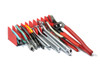 No-Slip 10 Tool Plier Organizer - Red/Black