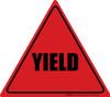 Yield (Red/Black) - Floor Sign